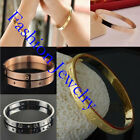 Hot Women/Girl/Men's Solid 925Silver Fashion Jewelry  Bangle Chain Bracelet Lady