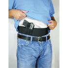 Black Belly Band Elastic Undercover Concealment Holster & Mag Magazine Pouch