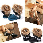 New Fashion Women Autumn Winter Snow Boots Ankle Boots Warm Fur Shoes