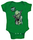 Star Wars Yoda Hungry I Am Funny Movie Baby Creeper Romper Snapsuit