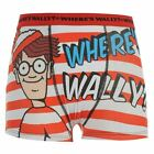 Wheres Wally Kids Single Boxers Short Trunks Underwear Brief