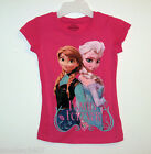 Disney Frozen Anna Elsa Pink Shirt 4/5, 6/ 6X, 10/12 or 14/16