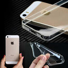 Cover Case Crystal Clear Soft Silicone TPU for iPhone 4S 5 5S SE 6 6S 6S Plus