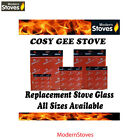 Cosy Gee Fire Replacement Stove Glass - Heat Resistant