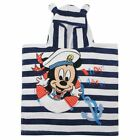Character Poncho Baby Towel Hooded Absorbent Cotton Logo Beach Accessory