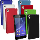 Glossy TPU Gel Skin Case Cover for Sony Xperia Z2 D6503 + Screen Proctector