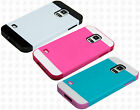 For Samsung Galaxy S5 Multi Tone TPU HYBRID Case Phone Cover Accessory