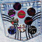 """THE VAMPS Band Various Badges 2.5 cm 1"""" Button HandCrafted Teens Kids Gift Pack"""
