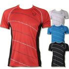 Jeansian Mens Sport Quick Dry Stretch T-Shirts Top Tee Athletic 4 Colors LSL116