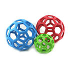 JW Pet HOLEE ROLLER BALL Dog Chew Treat Fetch Bouncy Toy CHOOSE SIZE