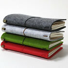 Wool Soft Cover Journal Diary Notebook Notepad Memo Pad Stationery Vintage Gift