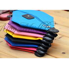 Waterproof Multicolor Nylon Cosmetic Bag Handbag Purse Pouch Zipper Pencil Case