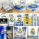 REAL MADRID BEDDING AND BEDROOM ACCESSORIES FOOTBALL BOYS OFFICIAL NEW FREE P+P