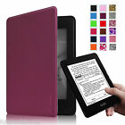 Auto Sleep/Wake Leather Cover Case For Amazon All-New Kindle Paperwhite 6 inch