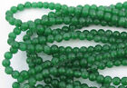 Top Quality Green jasper Round Charms Beads 4MM 6MM & 8MM 10MM 12MM