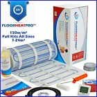Electric Underfloor Undertile Heating Kit 150w ALL SIZES 1-24m² Stone Ceramic