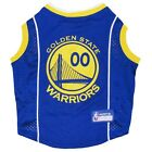 NBA Golden State Warriors Two Tone Pet Dog Jersey Tank (all sizes)