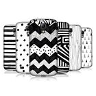 HEAD CASE BLACK AND WHITE DOODLE COVER FOR SAMSUNG GALAXY S4 MINI I9190 I9192