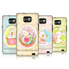HEAD CASE ADORABLE BUNNIES SNAP-ON BACK COVER FOR SAMSUNG GALAXY S2 II I9100