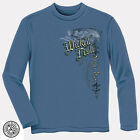 Wicked Fish Striped Bass Adult Long Sleeve T-Shirt Tee