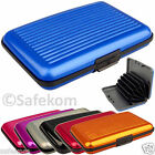 Waterproof Business ID Credit Card Wallet Holder Aluminum Pocket Case Box Purse