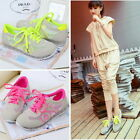 New Womens girls shoes low lace-up breathable Cortez Fashion Sneakers 88A38