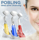 Pobling New Deep Pore Cleaning Sonic Vibration Cleanser Face Brush for Skin Care