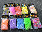 colourful loom band bracelet charm with needle tool clips s kids gift party bag