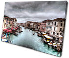 City Venice Italy  SINGLE CANVAS WALL ART Picture Print VA