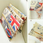 Women Evening Bag Purse Flag Stamp Graffiti Long Purse Zip Bags Envelope Handbag