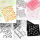 30 Sheets 3D Design Nail Art Stickers Tip Decal Manicure Decorations NA Lots