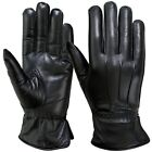 Winter Dress Gloves Soft Thermal Lined Ladies Dressing Real Leather Glove, Black