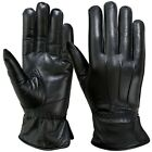 Winter Dress Gloves Soft Thermal Lined Women Dressing Real Leather Glove Black