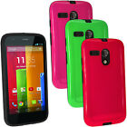 Glossy Hybrid Hard TPU Cover for Motorola Moto G 4G 1st Gen XT1032 Shell Case