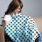 Women Mum breastfeeding Feeding baby Nursing Cover Privacy Shawl Cloth Blanket