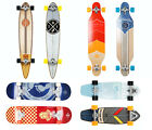 SKATEBOARD by Two Bare Feet LONGBOARD pintail point wooden kick retro cruiser