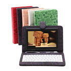 "iRulu 7"" Android 4.2 Dual Core Cam Tablet PC 8GB 1.5GHz WIFI Black w/ Keyboards"