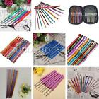 Set Bamboo Plastic Aluminum Handle Crochet Hook  Knitting Knit Needle Weave Yarn