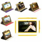 "IRULU 7"" Tablet PC 8GB Android 4.2 Dual Core Camera 1.5 GHz WIFI Yellow w/ Case"