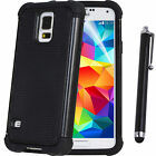 Heavy Duty Impact Rugged Hard Case Cover For SAMSUNG Galaxy S5 Screen Protector on Rummage
