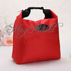 Thermal Insulated Cooler Waterproof Lunch Tote Carry Storage Picnic Pouch Bag S
