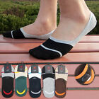 New Mens Low Cut No Show Cotton Sport Silica Gel Trainer Invisible Boat Socks