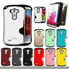 Shockproof defender Armor Dual Layer Protective Case cover For LG G2/G3/G4/G5