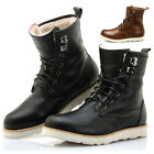 New Men Real Leather Autumn/Winter Shoelace Boots Boots High Quality EX24