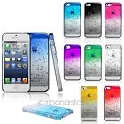 Ultra Stylish Clear Thin 3D Waterdrop Raindrop Hard Back Case for iPhone 5 5S