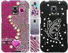 Samsung Galaxy S5 Active G870 Crystal Diamond BLING Protector Hard Case Cover