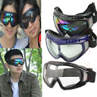 Airsoft Goggles Motorcycle Tactical Paintball Clear Glasses Wind Dust Protection
