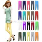 Hot Sell Women Candy Color Modal Stretch Slim Tights Leggings Pants 20 Colors