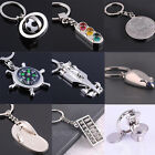 Creative Unisex Silver Model Keychain Key Ring Collect Metal Pendant Key chains