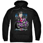 Betty Boop Cartoon City Chopper Adult Pull-Over Hoodie $47.95 USD on eBay